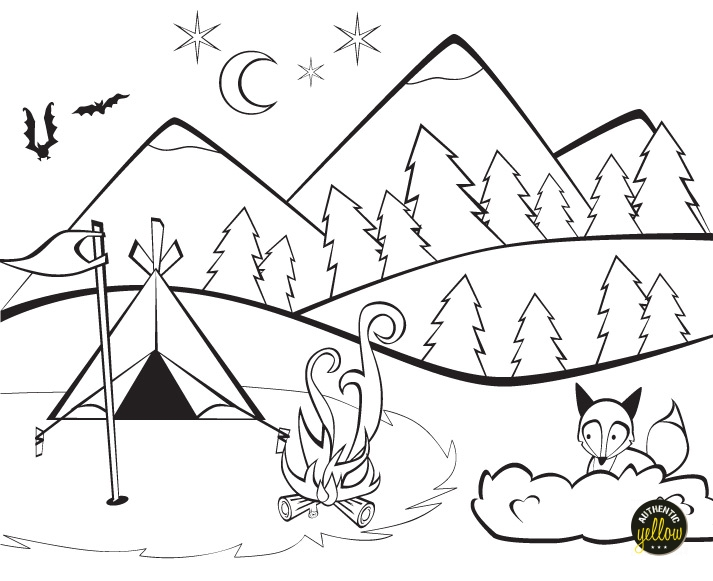 authenticyellow_campingcoloringpage