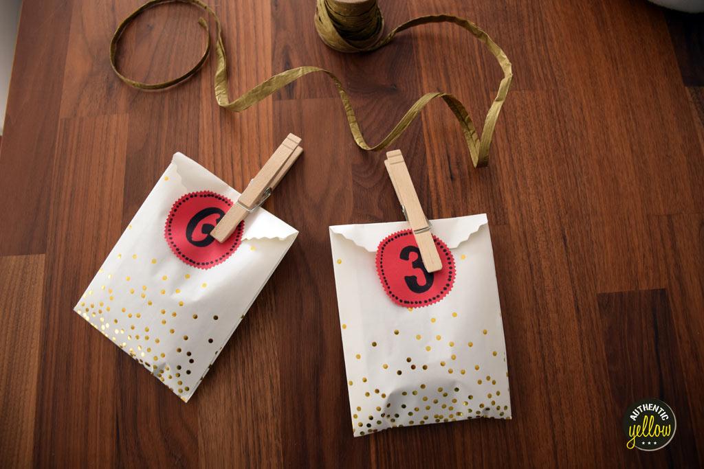 Assembled treat bags